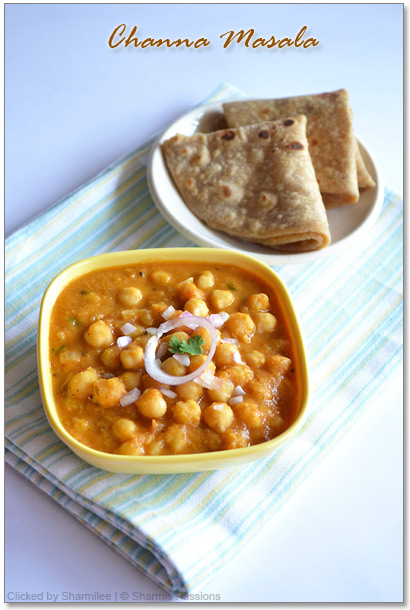 Home style chana masala recipe sharmis passions home style chana masala recipe forumfinder Image collections