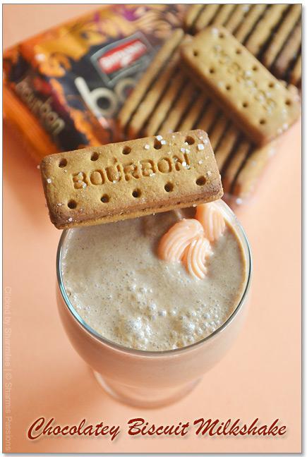 Chocolatey Biscuit Milkshake Sharmis Passions
