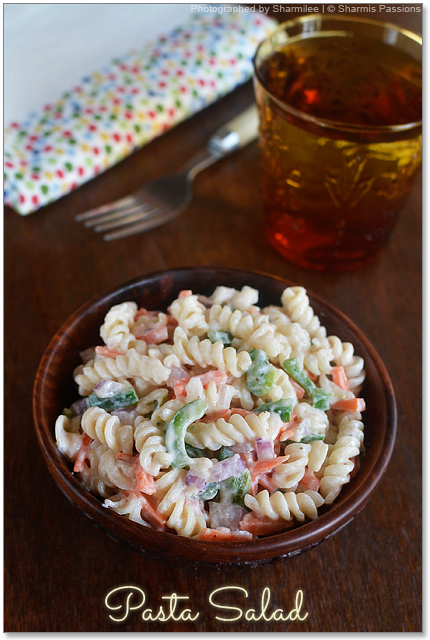 Pasta Salad (with 1000 island dressing)