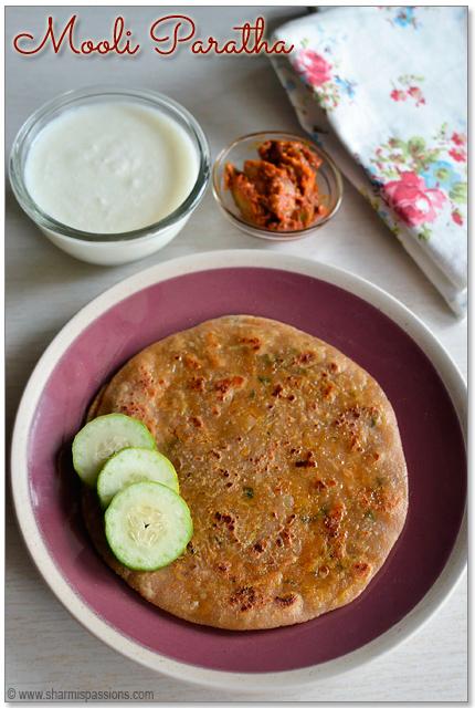 Mooli Paratha – Punjabi Mooli ka Paratha – Radish Paratha Recipe