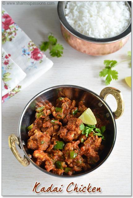Kadai Chicken – Kadai Chicken Gravy / Curry Recipe