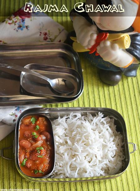 Rajma Chawal – Kids LunchBox Idea 49
