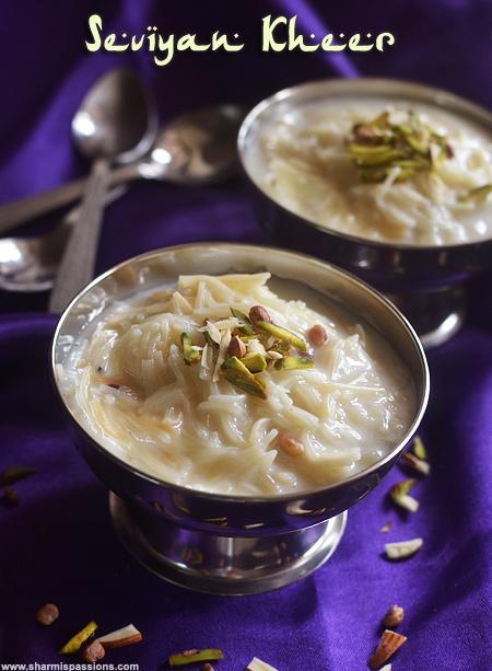 Seviyan Kheer Recipe,Vermicelli Kheer – Ramzan / Ramadan Recipes