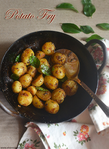 Small Potato Fry Recipe – Baby Potato Roast