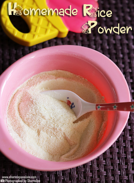 Homemade Rice Cereal for Babies – How to make rice cereal for babies