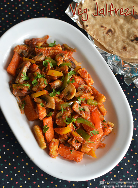 Vegetable Jalfrezi Recipe – Easy Veg Jalfrezi