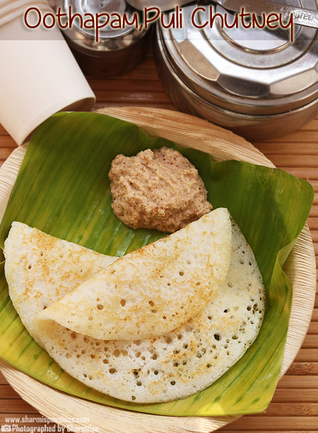 Oothappam Puli Chutney – Travel Food Idea 16