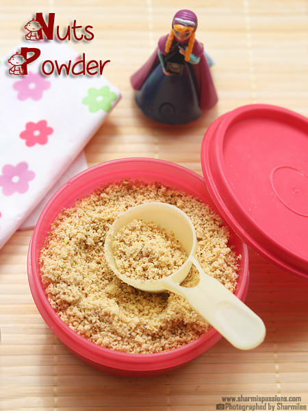 Nuts Powder for Babies – How to make nuts powder at home