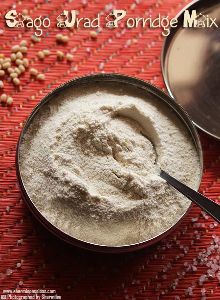 Sago Urad Porridge – Javvarisi Ulunthu Kanji – Baby Food Recipes