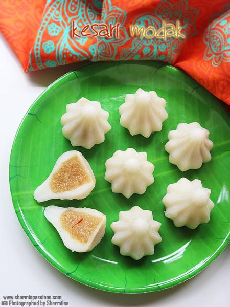 Kesari Modak Recipe-Modak Recipes for Ganesh Chaturthi