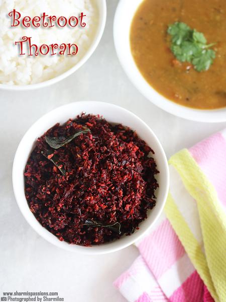 Beetroot Thoran Recipe – Kerala Style Beetroot Stir Fry
