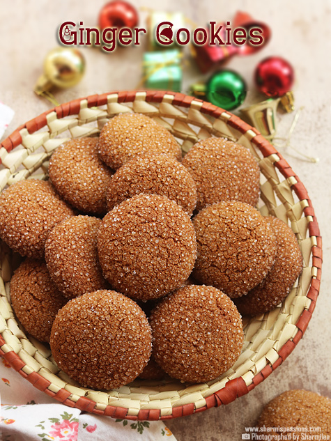 Ginger Cookies Recipe – Soft Ginger Cookies