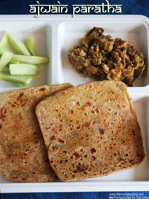 Ajwain Paratha Recipe, How to make ajwain paratha, Ajwain ka paratha