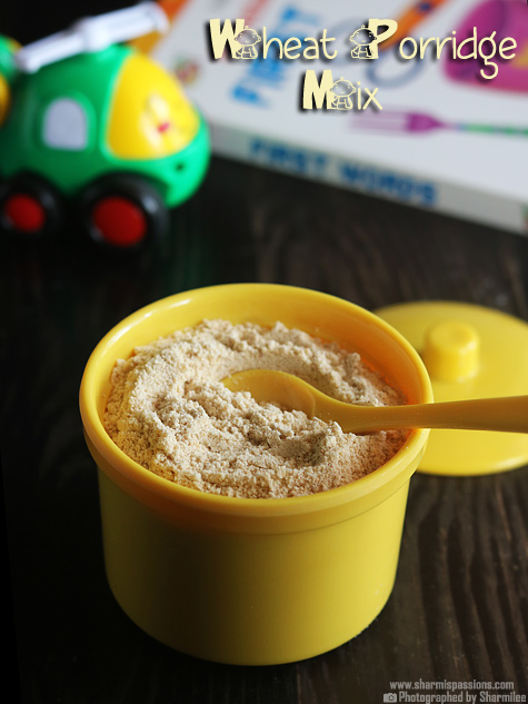 Wheat Almond Porridge Powder Recipe – Baby Food Recipes
