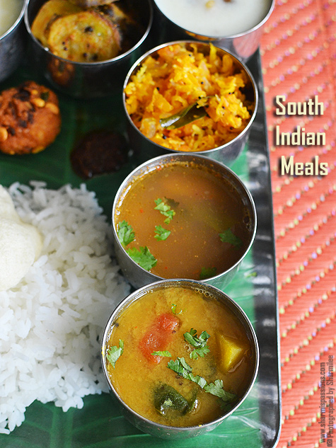 South indian lunch recipes south indian meals sharmis passions food advertising by forumfinder Gallery