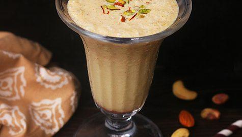 Dry fruits milkshake recipe, Dry fruit and nut milkshake recipe
