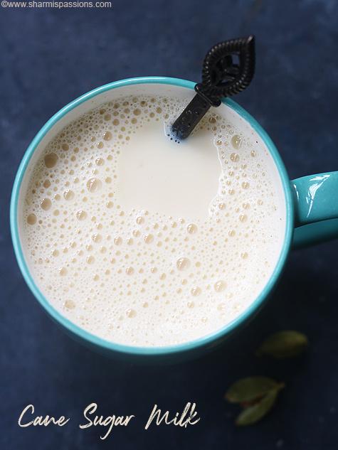cane sugar milk