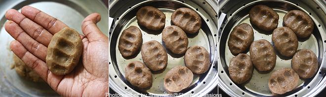 kambu flour sweet kozhukattai recipe