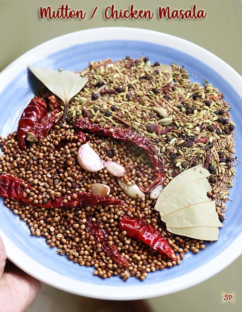 Mutton chicken masala powder recipe
