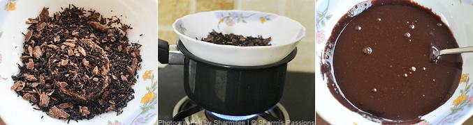 How to make chocolate crinkle cookies - Step1