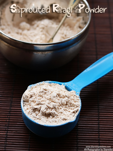 Homemade Sprouted Ragi Milk Powder for Babies