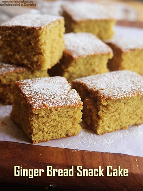 Gingerbread Snack Cake Recipe
