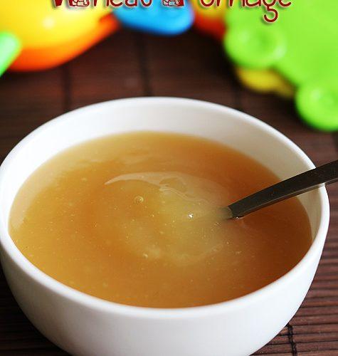 How to make wheat milk porridge for babies