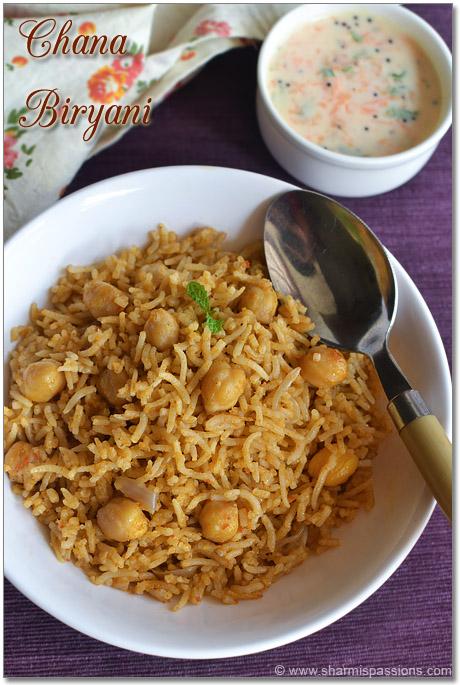 Channa Biriyani Recipe