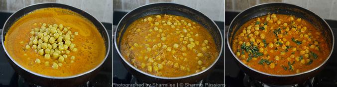 How to make chana masala  - Step4