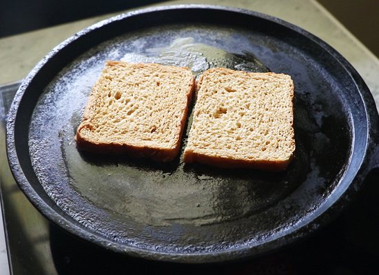 add bread slices